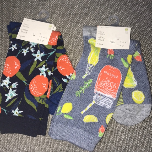 Two New Pairs of Socks